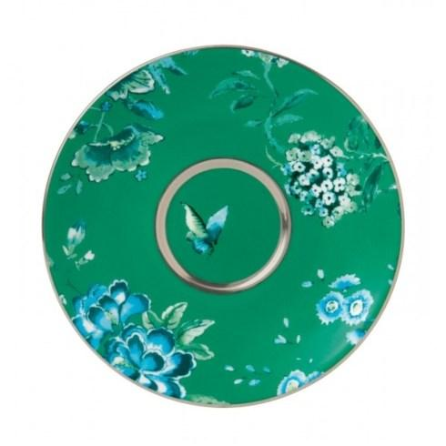 Wedgwood  Chinoiserie Green Tea Saucer $35.00