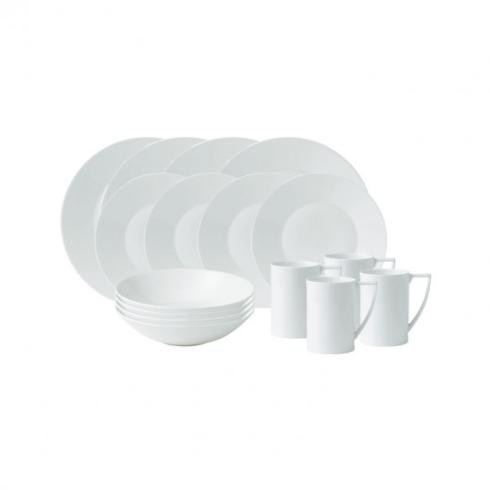 $380.00 Jasper Conran White 16-Piece Set