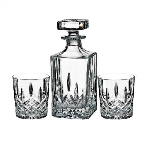 Waterford  Markham  Markham Square Decanter & DOF 11 OZ Pair $125.00