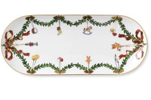 Royal Copenhagen  Star Fluted Christmas Oblong Dish $185.00