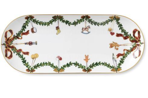 Royal Copenhagen  Star Fluted Christmas Oblong Dish $185.00
