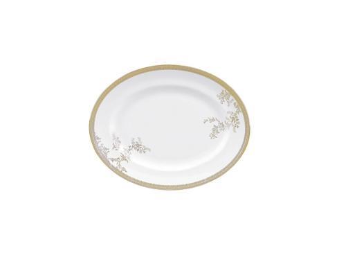 Vera Wang  Vera Lace Gold Oval Platter 35 cm / 13.7