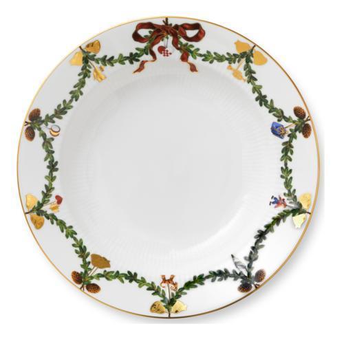 Royal Copenhagen  Star Fluted Christmas Rim Soup Bowl $80.00