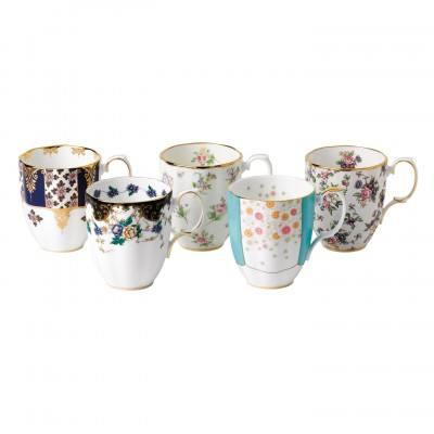 $140.00 1900-1940 5-Piece Mug Set