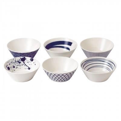 Royal Doulton  Pacific Mixed Patterns Bowls Set/6 Mixed Patterns $65.00