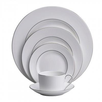 Vera Wang  Blanc Sur Blanc Low Imperial 5 piece plate setting $129.00