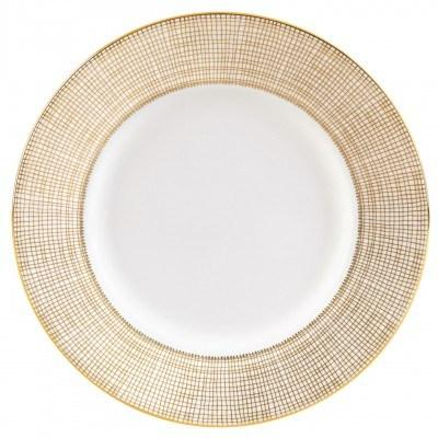 """Vera Wang  Gilded Weave Plate 23 cm / 9"""" Accnt $50.00"""