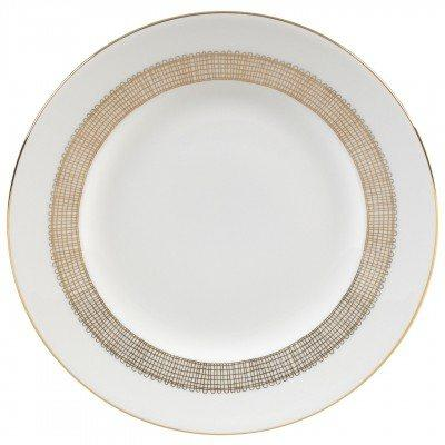 Vera Wang  Gilded Weave Salad Plate 8