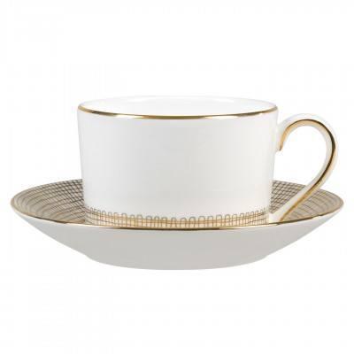 Vera Wang  Gilded Weave Tea Saucer Low $19.00