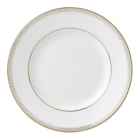 """Vera Wang  Golden Grosgrain Plate 15 cm / 6"""" $25.00"""