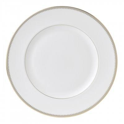 """Vera Wang  Golden Grosgrain Plate 27 cm / 10.7"""" $40.00"""