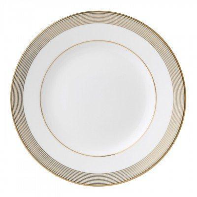 Vera Wang  Golden Grosgrain Plate 23 cm / 9