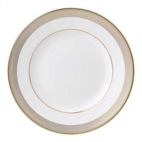 """Vera Wang  Golden Grosgrain Plate 20 cm / 8"""" $35.00"""