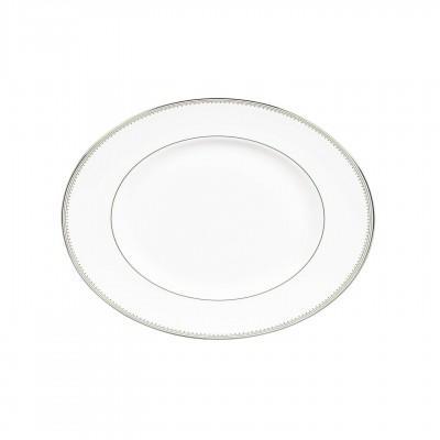 Vera Wang  Grosgrain Oval Platter 35 cm / 13.7