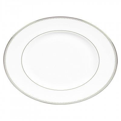 Vera Wang  Grosgrain Oval Platter 38.5 cm / 15.2