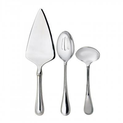 Vera Wang  Grosgrain Serving Flatware 3 piece set $100.00