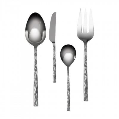 Vera Wang  Hammered Hostess Flatware 4 piece set $70.00