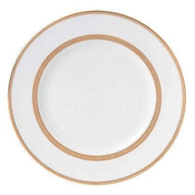 Vera Wang  Vera Lace Gold Dinner Plate 10.7