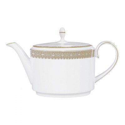 Vera Wang  Vera Lace Gold Teapot 2 pint $285.00