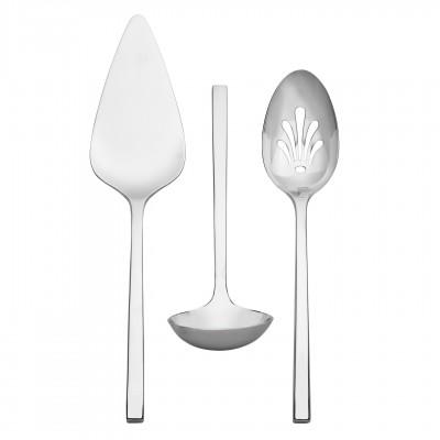 Vera Wang  Polished Serving Flatware 3 piece set $85.00