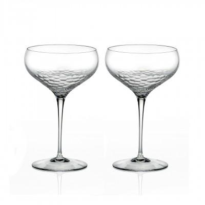 Champagne Saucer Pair