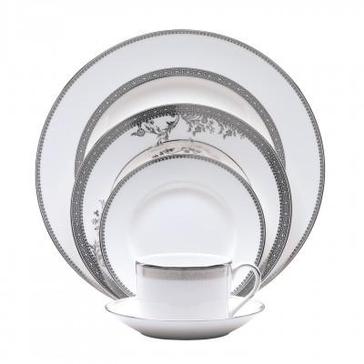 $150.00 Low Imperial 5 piece plate setting