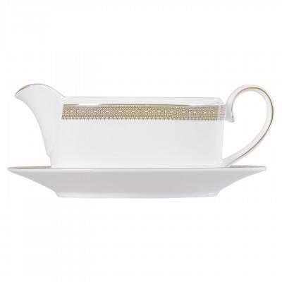 Vera Wang  Vera Lace Gold Sauce Boat 0.35 L $185.00