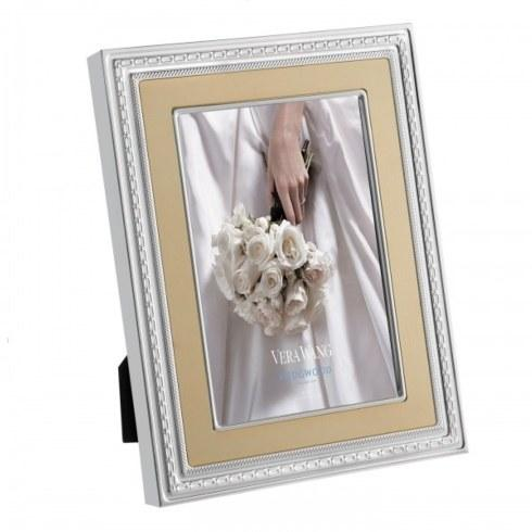 "Vera Wang  With Love Gold Frame 8x10"" $105.00"