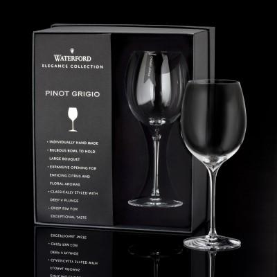 Waterford  Elegance Pinot Grigio Wine Glass Pair $75.00