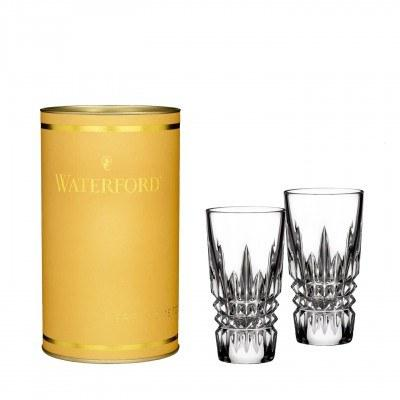 Lismore Diamond Shot Glass Pair