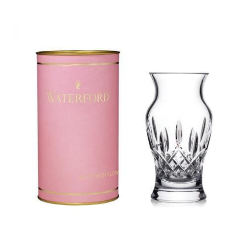 "Waterford  Giftology Lismore 6"" Vase (Pink Tube) $80.00"