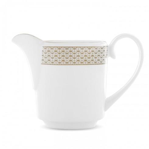 Waterford  Lismore Diamond Gold creamer $110.00