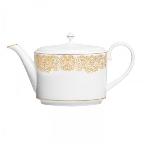 Waterford  Lismore Lace Gold Gold Beverage Server $245.00