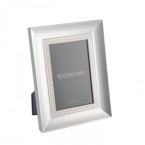 Lismore Lace Silver 4x6 Picture Frame