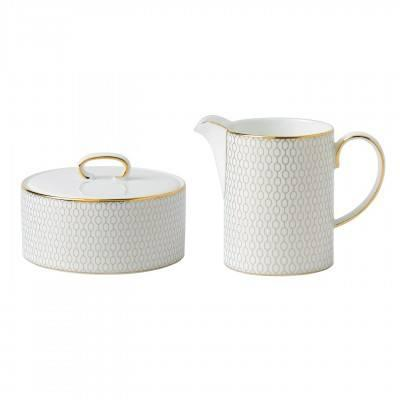 Wedgwood  Arris Cream & Sugar Set $175.00
