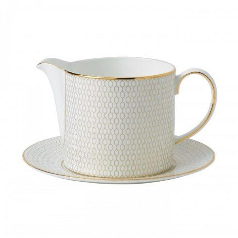 Wedgwood  Arris Sauce Jug & Stand $175.00