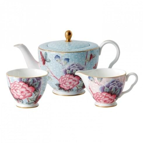 3-Piece Teaset L/S (Teapot, Sugar & Creamer) image