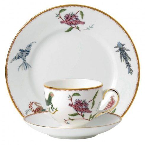 "$165.00 3-Piece Set (Teacup, Saucer & Plate 8"")"