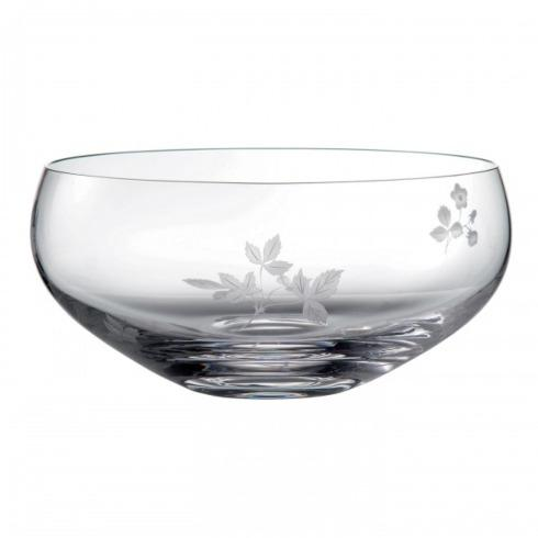 Wedgwood  Wild Strawberry Al Fresco Entertaining Crystal Salad Bowl $172.50