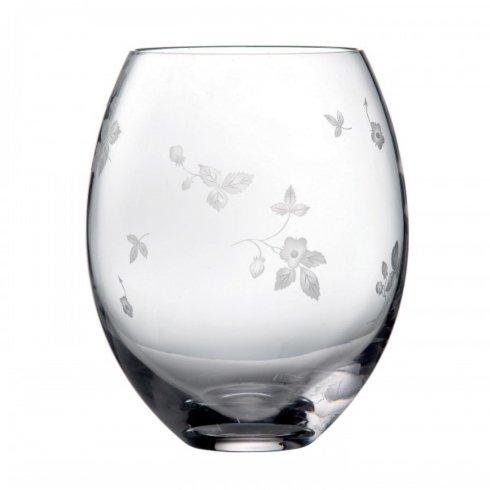 "$225.00 Crystal Vase 8.7"""