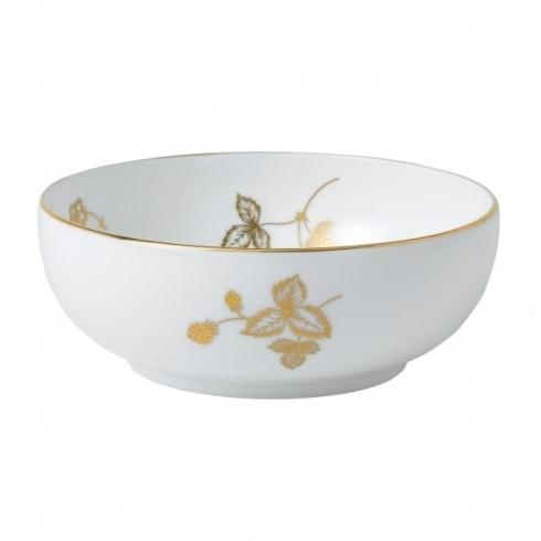 $32.00 Low Bowl, Gold
