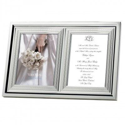 $110.00 Double invitation Frame 5X7""