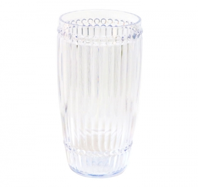 Le Cadeaux   Milano Set of 6 Clear Large Tumblers $57.95