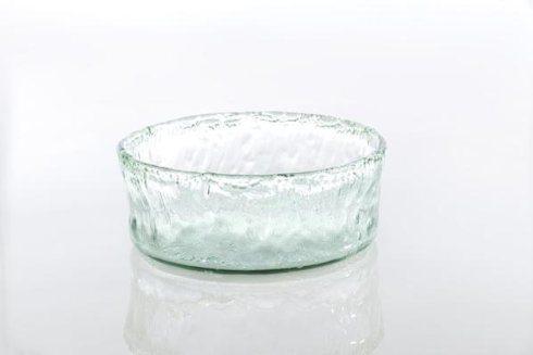 $48.00 Rustic Glass Medium Round Bowl