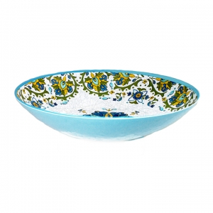 Oval Serving Bowl, Allegra Turquoise  collection with 1 products