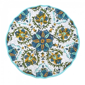 Dinner Plate, Allegra Turquoise  collection with 1 products