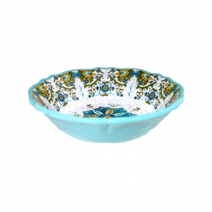 Cereal Bowl, Allegra Turquoise  collection with 1 products