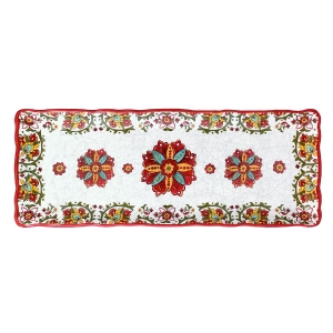 Baguette Tray, Allegra Red collection with 1 products