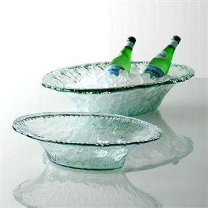 $78.00 Rustic Glass - Small Party Bowl