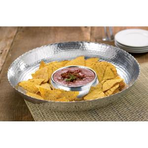 India Handicrafts   Chip and Dip Hammered $43.95